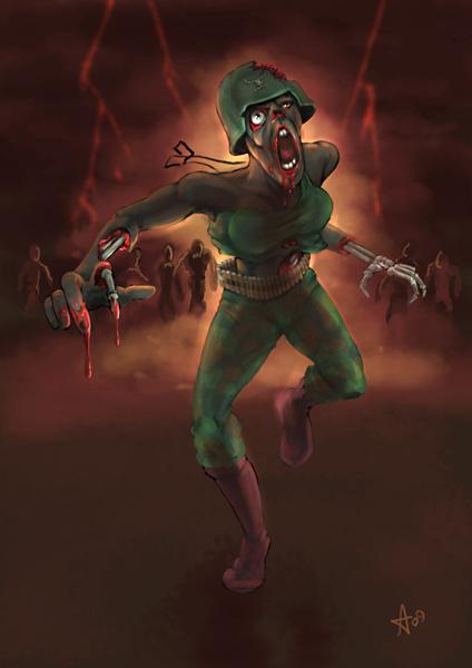 Zombie pepper sketch 02