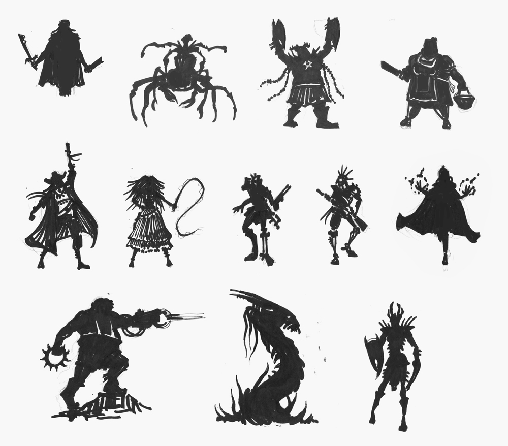 Character Silhouette Design